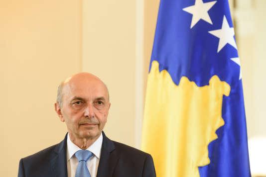 Isa Mustafa, premier ministre du Kosovo.