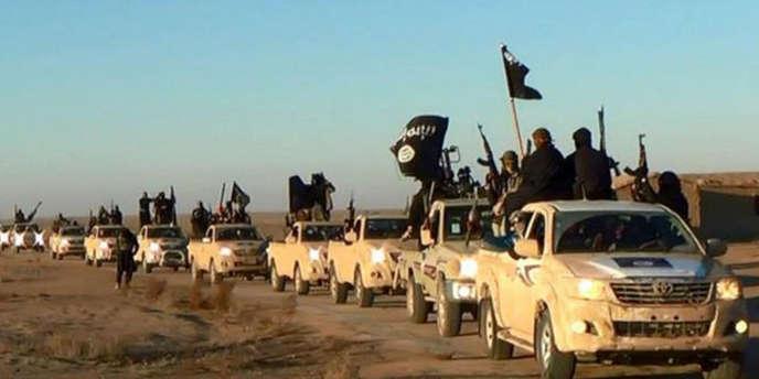 Il est difficile d'établir le profil de ceux qui rejoignent les rangs du djihad, comme sur cette image postée sur les réseaux sociaux en 2014.