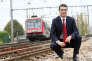 Jean-Pierre Farandou, alors directeur de SNCF d'Ile-de-France, en 2008. Ce dernier a rejoint l'entreprise publique alors qu'il avait 24 ans.