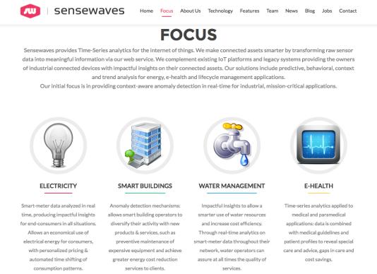 L'offre de Sensewaves - une des 5 startups récompensées par DataCity - pour rationaliser notre consommation énergétique.