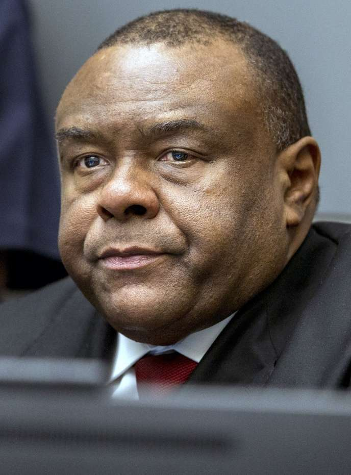 Jean-Pierre Bemba, à la Cour pénale internationale de La Haye, le 21 mars.