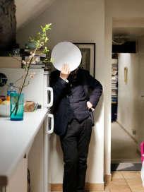 """François Simon, le critique gastronomique de """"M Le magazine du Monde""""."""
