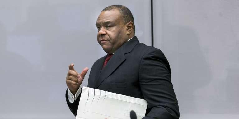 Jean-Pierre Bemba, ancien vice-président de la République démocratique du Congo, avant le rendu du verdict de la Cour pénale internationale, le 21mars, à LaHaye (Pays-Bas).