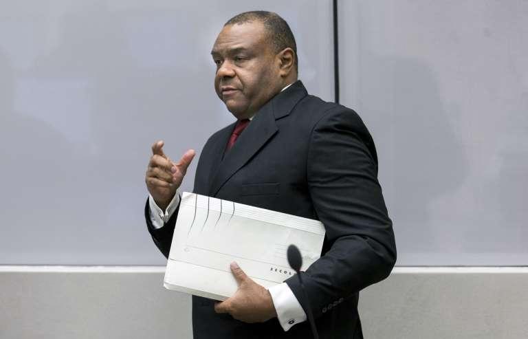 Jean-Pierre Bemba, le 21 mars 2016 à La Haye, aux Pays-Bas, siège de la Cour pénale internationale.