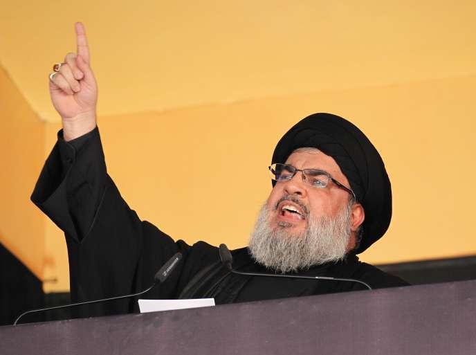 Le chef du mouvement chiite libanais Hassan Nasrallah, le 24 octobre.