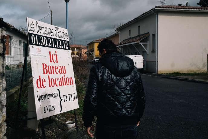 Saint-Gaudens (Haute-Garonne) a connu une frénésie immobilière faisant s'effondrer les prix à la location et à la vente. Ici, en février 2016.