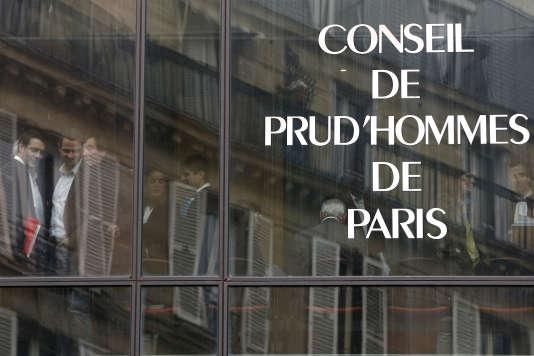 Le conseil des prud'hommes de Paris.