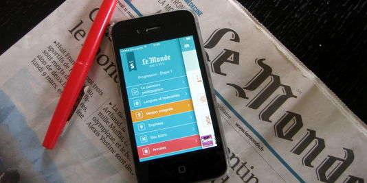 L'appli Le Monde - bac S 2016 est disponible sur l'Appstore.