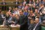 Le premier ministre britannique, David Cameron, devant la Chambre des communes, lunid 21 mars.