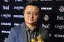 Le réalisateur chinois Bi Gan lors de la cérémonie des 52es Golden Horse Film Awards à Taipei en novembre 2015.
