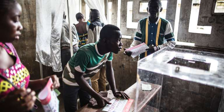 Congo began voting on March 20 under a media blackout, in a tense ballot expected to see President Denis Sassou Nguesso prolong his 32-year rule over the oil-rich but poor nation.