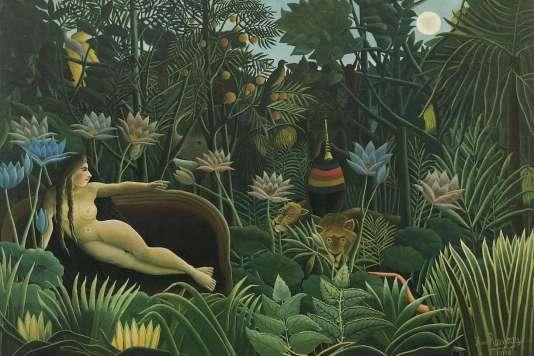 Le Douanier Rousseau, « Le Rêve », 1910 – huile sur toile, 204,5 x 298,5 cm – New York, The Museum of Modern Art, don de Nelson A. Rockefeller