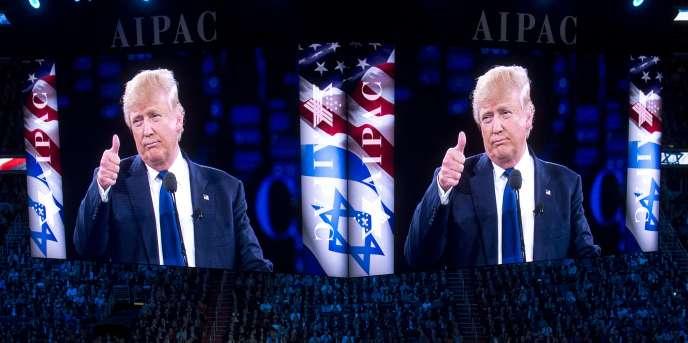 Lundi 21mars, le magnat des casinos avait exposé sa politique étrangère devant le forum annuel de l'American Israel public affairs commitee (AIPAC), le lobby pro-israélien de Washington.