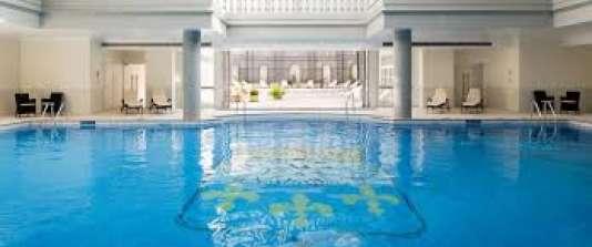Les 2 800 m2 du luxueux spa Guerlain.