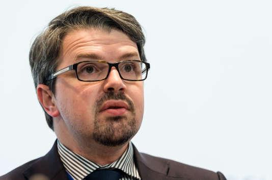 Le procureur fédéral belge, Frédéric Van Leeuw.
