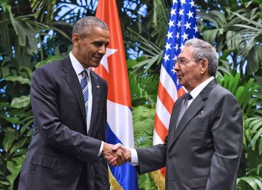 Lors d'un discours retransmis par les médias cubains le 21mars, Barack Obama avait appelé LaHavane «à enterrer le dernier vestige de la guerre froide».
