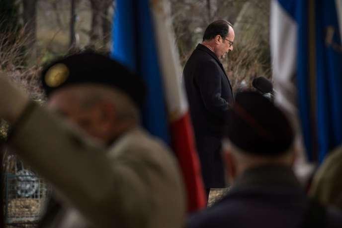 François Hollande, à Paris le 19 mars 2016.