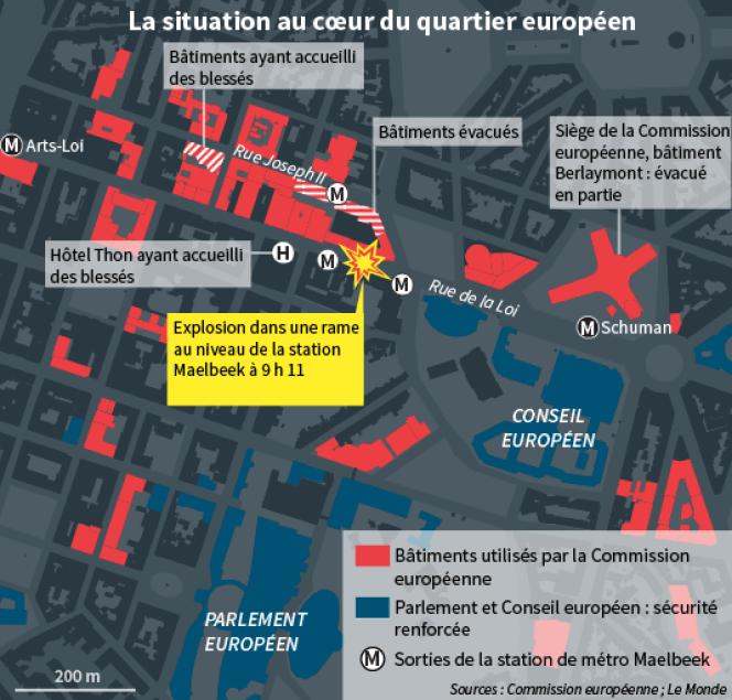 La situation au coeur du quartier européen