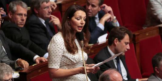 La députée (LR) des Bouches-du-Rhône Valérie Boyer a de nouveau évoqué le PNR, fichier européen des passagers aériens, après les explosions à Bruxelles.
