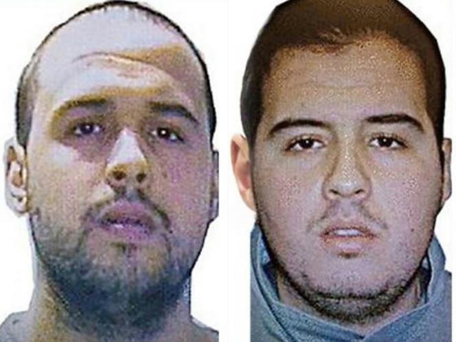 Les frères Khalid et Ibrahim El Bakraoui