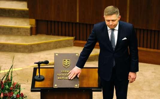 Robert Fico a été à la tête du gouvernement slovaque entre 2006 et 2010 puis entre 2012 et 2016.