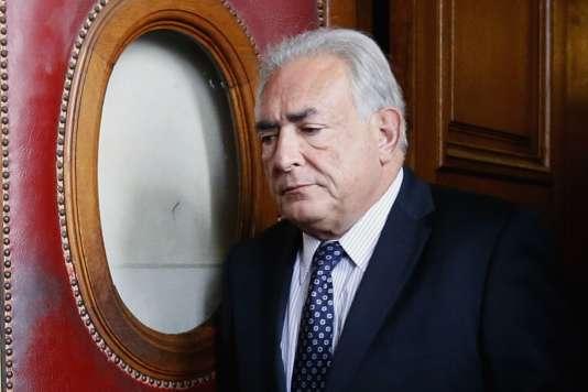 Dominique Strauss-Kahn, le 26 février 2013 à Paris.