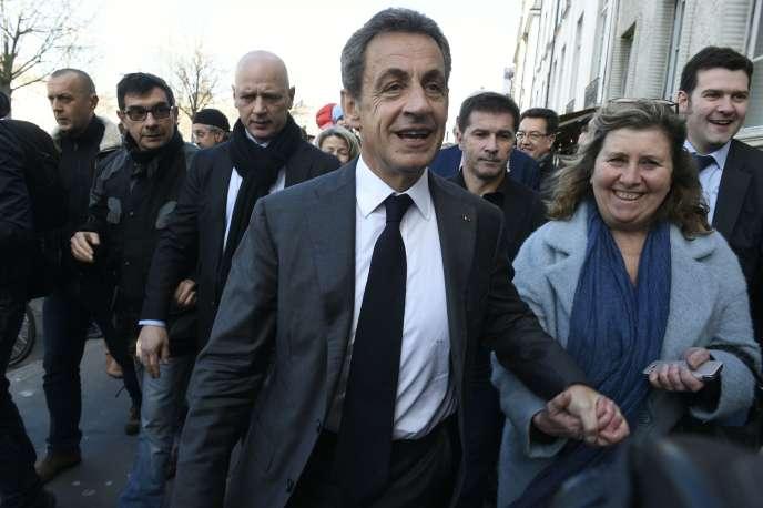Nicolas Sarkozy, à Lyon le 10 mars 2016.