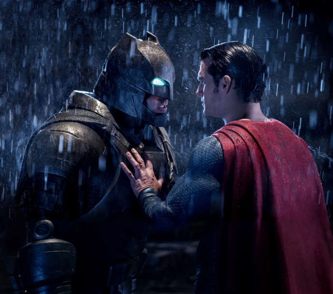 Ben Affleck (Batman) et Henry Cavill (Superman) dans
