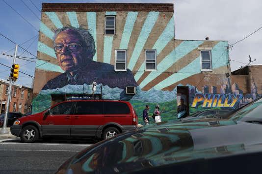 A Philadelphie, Bernie Sanders a droit à son « mural».