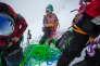 Le groupe féminin de haute montagne (GFHM), en préparation à Chamrousse, en mars.