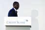 Tidjane Thiam est à la tête de Credit Suisse depuis juillet 2015.