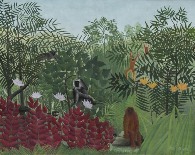 Henri Rousseau, dit Le Douanier Rousseau (1844-1910),