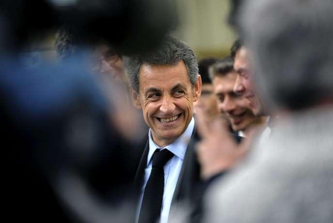 Nicolas Sarkozy, à Saint-Maur (Indre), le 24 mars 2016.