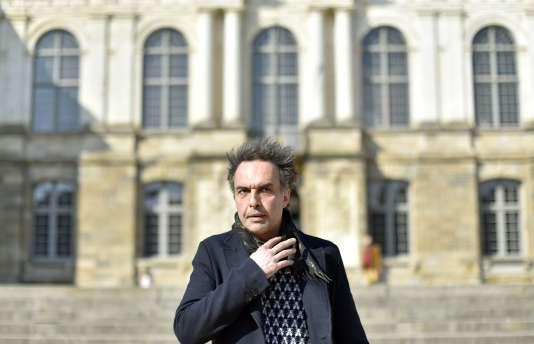 Le comédien Nicolas Bouchaud à Rennes, le 23 mars 2016.
