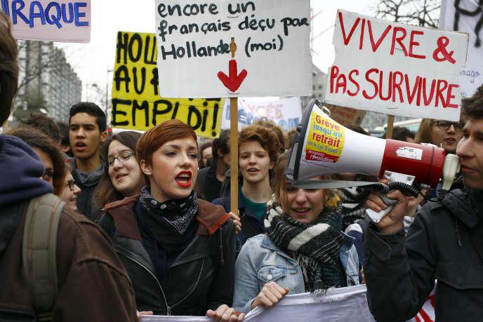 Mobilisation Contre La Loi Travail C Est Sur Il Y A Moins De