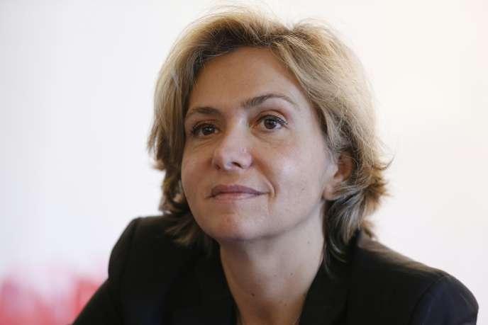 Valérie Pécresse, Présidente de la Région Ile-de-France, à Paris le 21 mars.