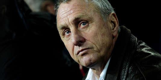 Johan Cruyff, en 2009, à Barcelone.