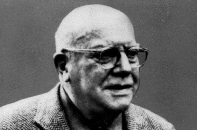 Le poète américain Conrad Aiken (1889-1973).