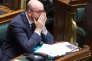 Le premier ministre belge, Charles Michel, au parlement, à Bruxelles, le 24 mars 2016.