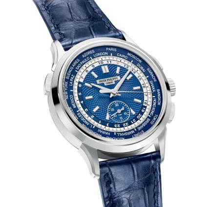 Patek Philippe, chronographe à heure universelle.