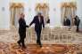 Vladimir Poutine et John Kerry à Moscou, le 24 mars.
