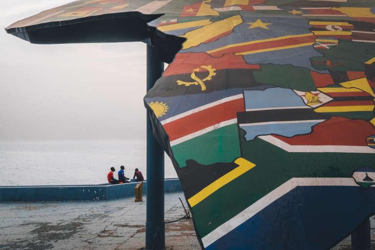 La place du Souvenir, à Dakar.