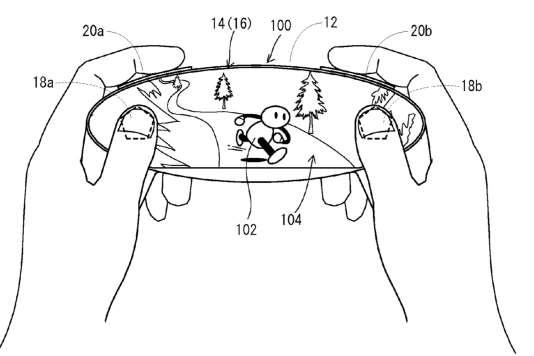 Brevet de manette tactile déposé par Nintendo et publié fin 2015.