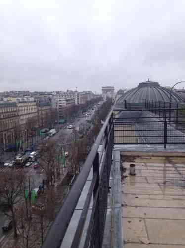 Au septième étage, le restaurant bénéficiera d'une terrasse végétalisée de  1 600 mètres carrés.