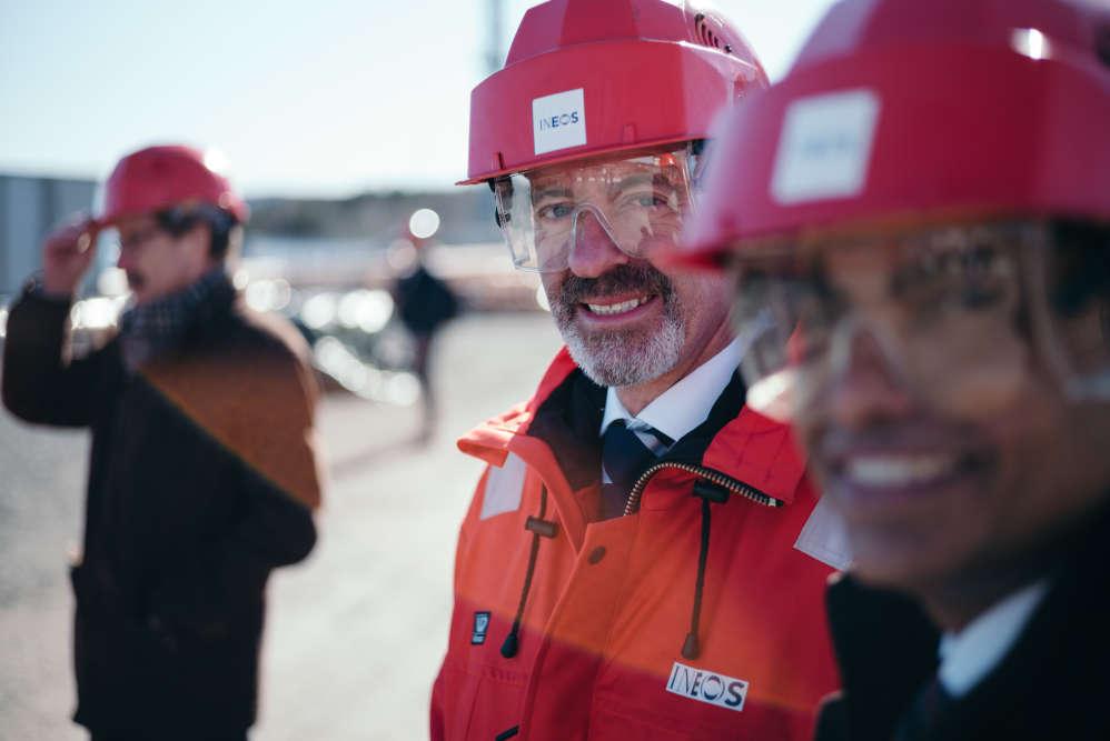David Thompson, directeur opérationnel commerce et transport d'Ineos.