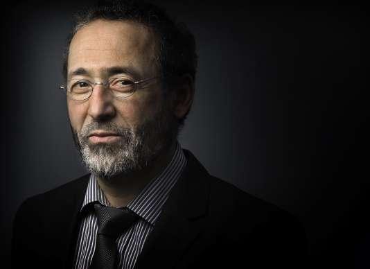 L'imam de Bordeaux, Tareq Oubrou en 2015.