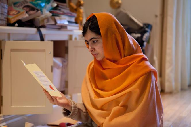 Malala Yousafzai à Birmingham en Angleterre, le 17 décembre 2013.