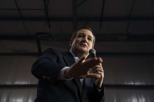 Ted Cruz,  le 25 mars 2016 à Oshkosh, Wisconsin.