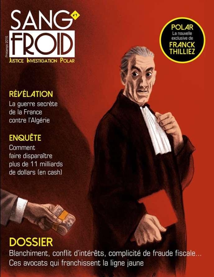 Couverture du premier numéro de Sang-Froid.