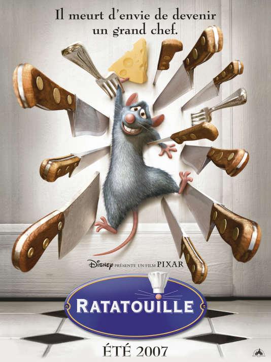 Une des affiches de «Ratatouille».